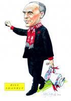 Карикатура на Билла Шенкли