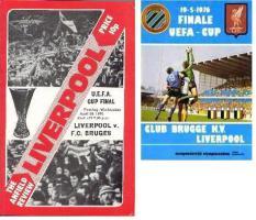 Программки к финалам Кубка УЕФА 1976 года (c) LFC History