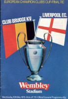 Программка к финальному матчу Кубка европейских чемпионов 1977/1978 (c)