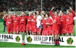 «Ливерпуль» — обладатель Кубка УЕФА 2001 (c) LFC History