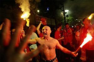 Болельщики «Ливерпуля»