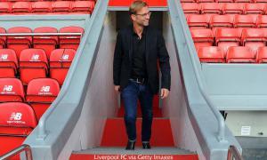Юрген Клопп на «Энфилде» (c) LiverpoolFC.com