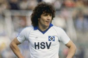 Кевин Киган в футболке «Гамбурга»