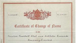 Сертификат о смене имени (с)