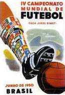 Рекламный плакат чемпионата мира 1950 года