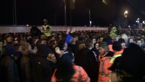 Мерсисайдское дерби: толпа фанатов на Anfield Road