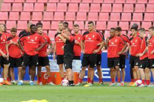 Тренировка «Ливерпуля» Фото.© mirror.co.uk