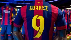 Футболка «Барселоны», Луис Суарес (c) ESPN