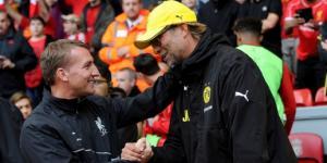 Фотография Брендана Роджерса и Юргена Клоппа (c) Liverpoolfc.com