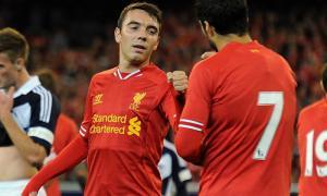 Яго Аспас и Луис Суарес в Мельбурне (c) LiverpoolFC.com
