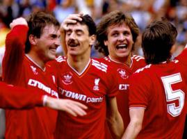 Кенни Далглиш, Иан Раш, Ян Мёльбю и Ронни Уилан (c) Liverpool Echo