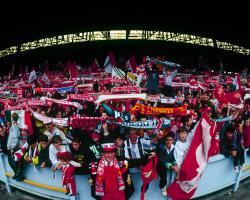 Последний день стоячего Копа (c) LiverpoolFC.com