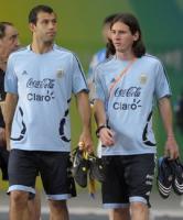 Фото Хавьера Маскерано в сборной Аргентины (с) la-primera