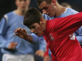 Райан Флинн в финале Юношеского кубка Англии (c) Sky Sports