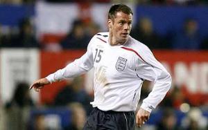 Джейми Каррагер в футболке сборной Англии (c) Telegraph