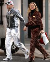 Андрей Воронин с женой Юлией (c) Daily Mail