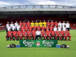 Общая фотография «Ливерпуля» в сезоне 2009/2010 (c) LiverpoolFC.tv