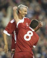 Иан Раш и Джон Олдридж в мемориальном матче (c) LiverpoolFC.tv