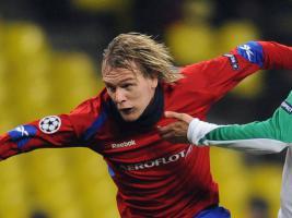 Милош Красич в матче Лиги чемпионов