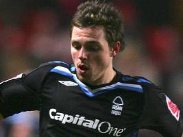 Пол Андерсон в футболке «Ноттингем Форест» (c) Sky Sports