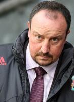 Разочарованный результатом Рафаэль Бенитес (c) Sky Sports