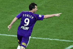 Робби Фаулер забивает первый гол за «Перт Глори» (c) PerthGlory.com.au