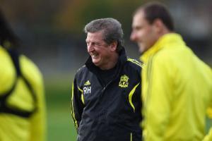 Рой Ходжсон на тренировке «Ливерпуля» (c) Sky Sports