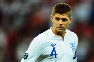 Стивен Джеррард — капитан сборной Англии (c) Zimbio