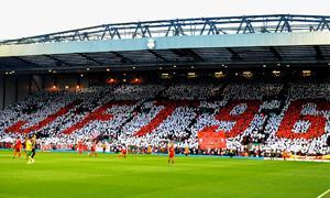 Мозаика JFT96 на Копе (c) Liverpool Echo