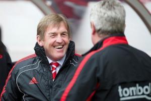 Кенни Далглиш и Стив Брюс (c) LiverpoolFC.tv
