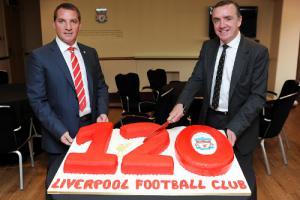 Брендан Роджерс и Иан Эйр (c) LiverpoolFC.tv