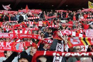 Болельщики «Ливерпуля» на «Уэмбли» (c) LiverpoolFC.tv