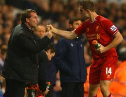 Брендан Роджерс и Джордан Хендерсон (c) LiverpoolFC.com