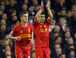 Луис Суарес и Филиппе Коутиньо (c) LiverpoolFC.com