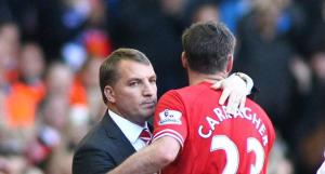 Брендан Роджерс и Джейми Каррагер (c) Liverpool Echo