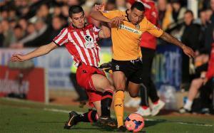 Конор Коуди в матче против «Кембридж Юнайтед» (c) Telegraph