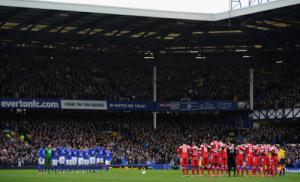 Минута молчания на матче «Эвертон» — КПР (c) LiverpoolFC.com