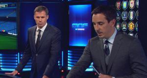 Джейми Каррагер и Гари Невилл (c) Sky Sports