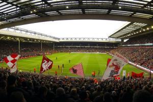«Энфилд» перед матчем против «Олдхэма» (c) Liverpool Echo
