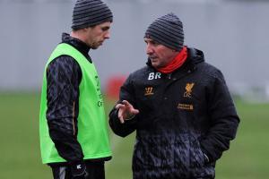 Джон Флэнаган и Брендан Роджерс (c) Liverpool Echo
