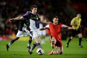 Джон Флэнаган против «Саутгемптона» (c) Liverpool Echo