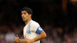 Луис Суарес в сборной Уругвая (c) BT