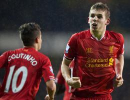 Филиппе Коутиньо и Джон Флэнаган (c) LiverpoolFC.com