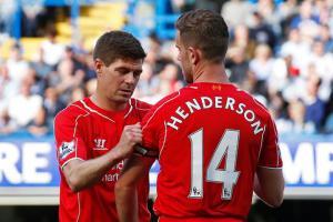 Стивен Джеррард и Джордан Хендерсон (c) Liverpool Echo