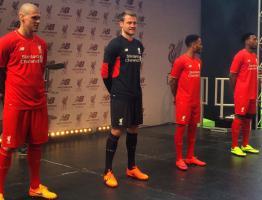 Новая форма «Ливерпуля» в сезоне 2015/2016 (c) LiverpoolFC.com