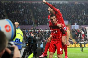 Адам Лаллана и Джордан Хендерсон (с) LiverpoolFC.com