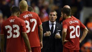 Брендан Роджерс и игроки «Ливерпуля» (c) Sky Sports