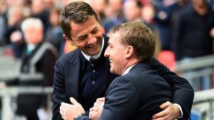 Тим Шервуд и Брендан Роджерс (c) Sky Sports