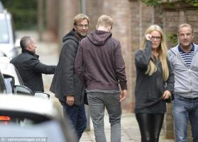 Юрген Клопп с семьёй (с) Daily Mail