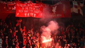 Болельщики «Ливерпуля» (c) Getty